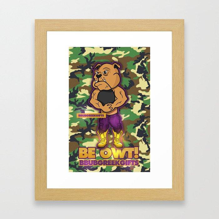 BE OWT Framed Art Print