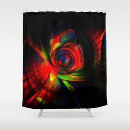 gimme a rose Shower Curtain