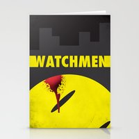 watchmen Stationery Cards featuring Watchmen by Thcenk
