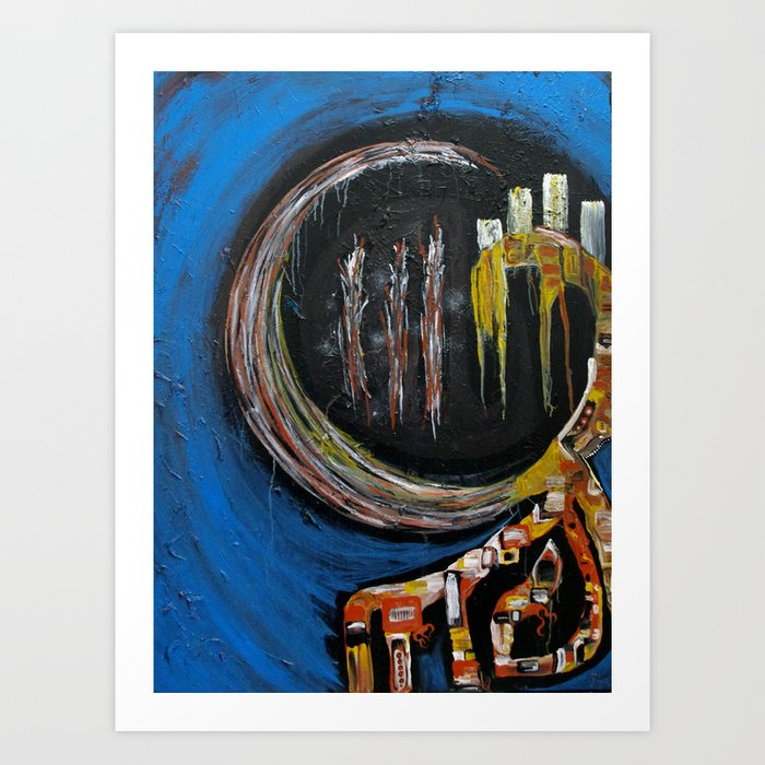 Eye of the Panda Art Print