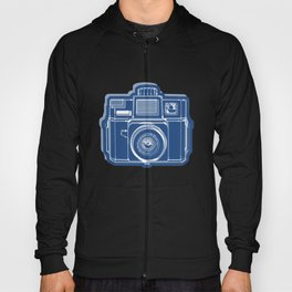 I Still Shoot Film Holga Logo - Blue Hoody