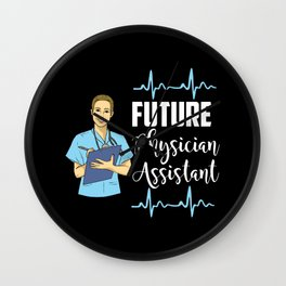 Future Physician Assistant Wall Clock