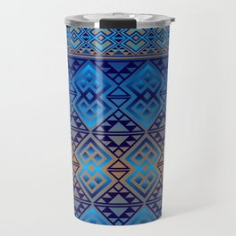 The Lodge (Blue) Travel Mug