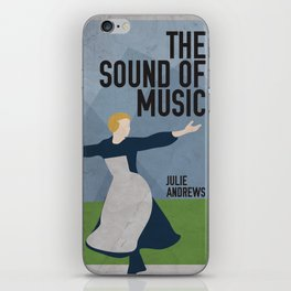 The Sound of Music Staring Julie Andrews iPhone Skin