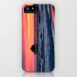 Surf City Sunsets   8/30/15   Huntington Beach California iPhone Case