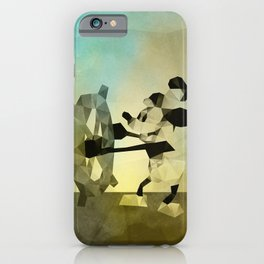 Mickey Mouse as Steamboat Willie iPhone Case