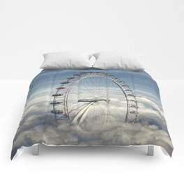 Ride Above the Clouds Comforters