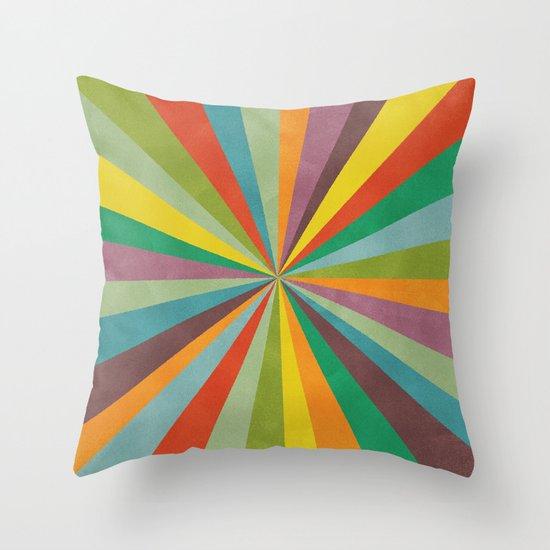 Primordial Throw Pillow