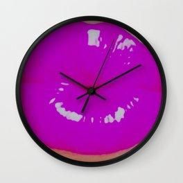 Hedonism Pouty Lips Wall Clock