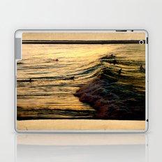 Sunset Wave Laptop & iPad Skin