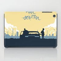 true detective iPad Cases featuring True Detective by Carlos Asensi