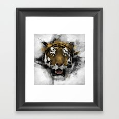 Tiger Framed Art Print