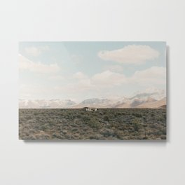 In the Arizona Desert (landscape) Metal Print