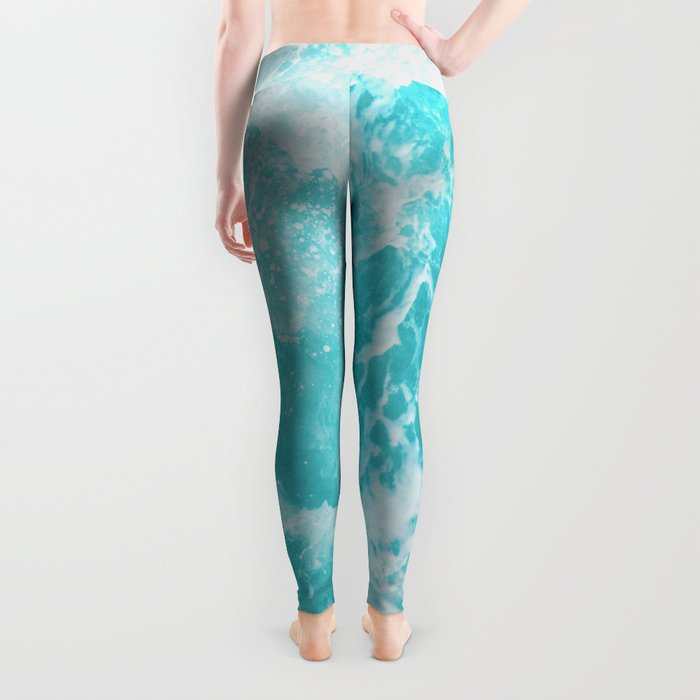 Perfect Sea Waves Leggings