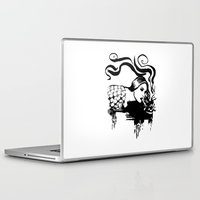 cigarette Laptop & iPad Skins featuring Cigarette by alexflasher