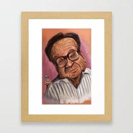 Chespirito Framed Art Print