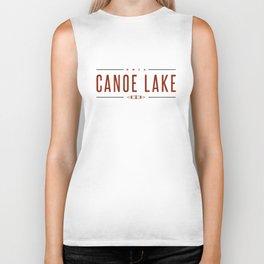 CANOE LAKE Biker Tank