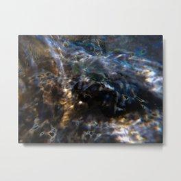 Aqua 4 Metal Print