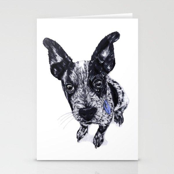 Blue Healer Stationery Cards