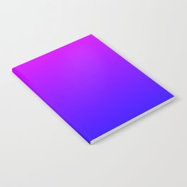 Fuchsia/Violet/Blue Ombre Notebook