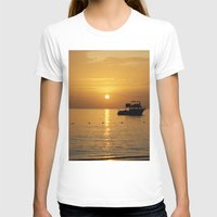 jamaica T-shirts featuring Sunset in Jamaica  by Jason Carnegie