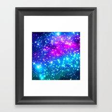 Bright Galaxy Framed Art Print