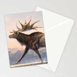 Megaloceros Giganteus Restored Stationery Cards