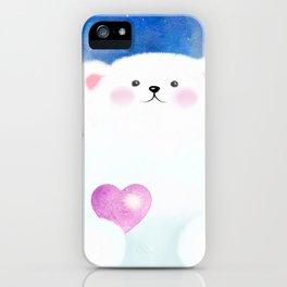 Little Love Bear iPhone Case