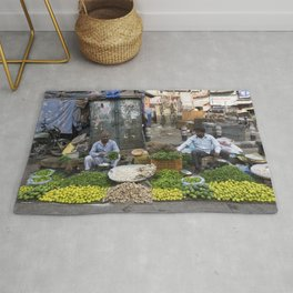 Limes Lemons and spices Rug