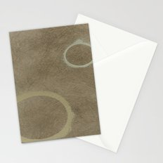 Two Circles - Modern Art - Abstract - Fine Art - California Cool - Popular Painterly Stationery Cards