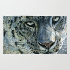 Snow-Leopard glance 810 Rug
