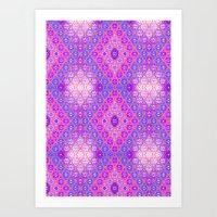 kilim Art Prints featuring Kilim 3 by EllaJo