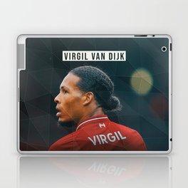 Virgil van Dijk Laptop & iPad Skin