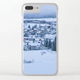 Brotterode Winter Wonderland Clear iPhone Case