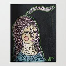 Magic Hair  Canvas Print