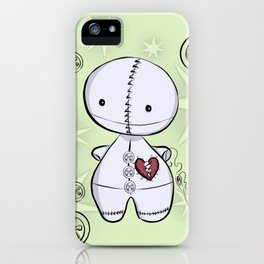 Mended Heart, Tiny Ragdoll iPhone Case