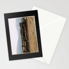 Steam Train Locomotive. Santa Fe 3751. © J. Montague. Stationery Cards
