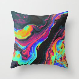 BATS IN THE ATTIC Throw Pillow