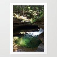 Emerald Clear Art Print