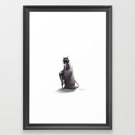 Splinter Framed Art Print
