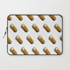 Golden Spray Can Pattern Laptop Sleeve