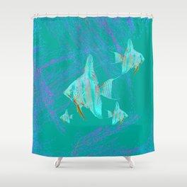 fishs # Shower Curtain
