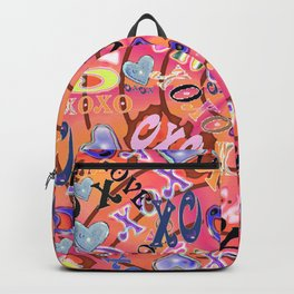 Love, hugs and kisses Backpack