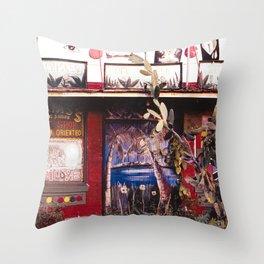 Hot Shop Throw Pillow