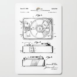Turntable Patent Cutting Board