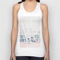 home sweet home Tank Tops featuring Home sweet home by Salome Gautier