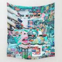under the sea Wall Tapestries featuring Under The Sea by Katy Hirschfeld