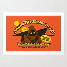 Jawa Trading Post Art Print