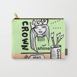 My New Crown - Zine Page Carry-All Pouch