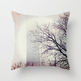 Go Back In Time Throw Pillow